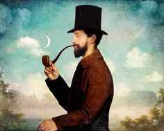 Illustrations by Christian Schloe Art Flakes |... | The Only Magic Left is Art