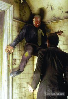 Matrix: Laurence Fishburne as Morpheus fighting Agent Smith Agent Smith Matrix, Keanu Matrix, Sherlock Holmes, The Matrix Movie, Matrix Reloaded, Hugo Weaving, Sci Fi Films, Black Actors, Fantasy Rpg