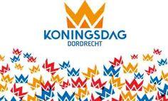 Logo Koningsdag 2015, Dordrecht, Holland