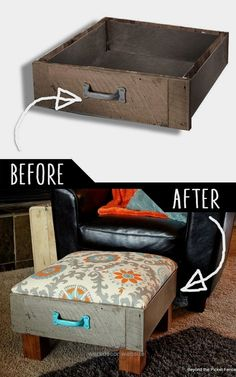 DIY Furniture Hacks | Foot Rest from Old Drawers | Cool Ideas for Creative Do It…  DIY Furniture Hacks | Foot Rest from Old Drawers | Cool Ideas for Creative Do It Yourself Furniture | Cheap Home Decor Ideas for Bedroom, Bathroom ..  http://www.wersdecor.website/2017/05/05/diy-furniture-hacks-foot-rest-from-old-drawers-cool-ideas-for-creative-do-it/