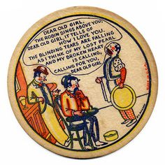 Tears Are Falling, Sous Bock, Beer Mats, Beer Coasters, Ephemera, Ale, Photos, Vintage, Pictures