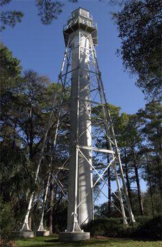 Hilton Head Rear Range Lighthouse  Hilton Head Island, South Carolina