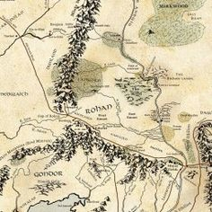Interactive Map of Middle-Earth - LotrProject