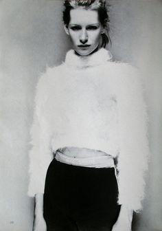 'Sportswear' // Kirsten Owen in Marie Claire Germany, November 1993