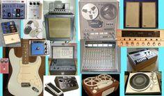 1977 Recording equipment (Generic Photo Montage)
