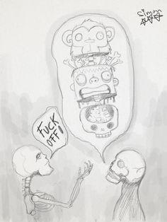 Skeletons conversation