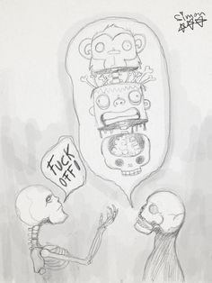 Skeletons conversation