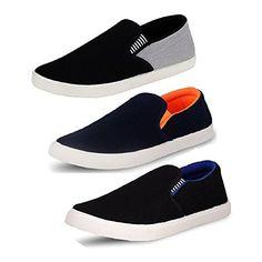 Tempo Men's SLV Loafers Combo Synthetic Leathers-(SLV Grey BLK/SLV ORN/SLV Black Blue)-7