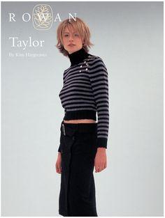 Taylor by Kim Hargreaves (Rowan) #free #pattern #rowan #knitting http://www.knitrowan.com/designs-and-patterns/patterns/taylor