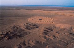 Gigantic Land Art In Sahara Desert Still Exists After 17 Years