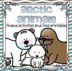 Arctic Animals preschool theme activities