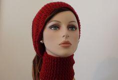10 Free Crochet Head Wrap Patterns (including ear warmers and headbands): Crochet Neck Head Wrap Free Pattern