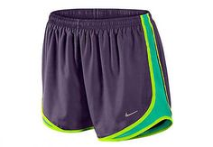 Nike Womens Tempo Short - Grand Purple with Volt @$26.99