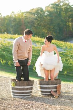 Grape stomping at Potomac Point Winery #MacGrillHalfPricedWine…