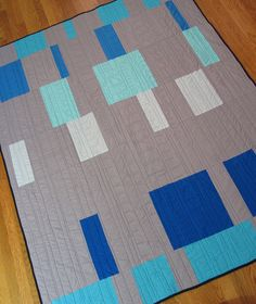 Project Modern Quilt Back | Flickr - Photo Sharing!