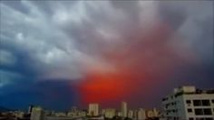 image of iron oxide debris cloud seen from Spain May 31st 2015