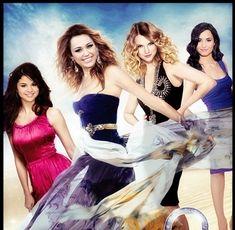 Demi Lovato And Selena Gomez And Miley Cyrus | miley cyrus, taylor swift, demi lovato and selena gomez - fifirose ...