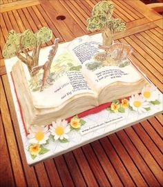 Guess how much I love you book cake by Claire Ratcliffe