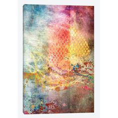 "East Urban Home 'Beyond the Sun' by Aimee Stewart Graphic Art on Wrapped Canvas Size: 40"" H x 26"" W x 1.5"" D"