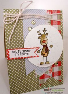 hand stamped cards with Unity stamps | + images about cards: christmas, unity stamps on Pinterest | Stamps ...