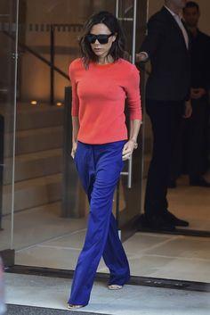 Victoria Beckham's Style File  - ELLEUK.com