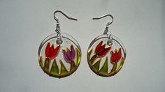 tulip earings