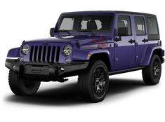 ❥ Jeep 2016 Wrangler Unlimited Backcountry Edition in Extreme Purple Pearl Coat Exterior Paint