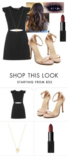 """""""Random"""" by kyanastyle ❤ liked on Polyvore featuring Topshop, Joolz by Martha Calvo and NARS Cosmetics"""