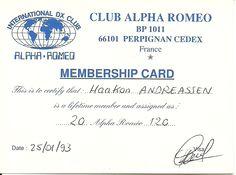 Alfa Romeo   AR  France  Group  very big group