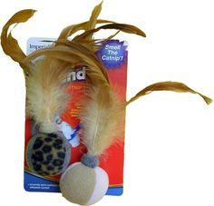 These Feather Balls are certain to delight cats of all kinds! Stuffed with our potent organic catnip, these toys are irresistible to cats.   Click to order!! Enter IH320 as Handler ID! ...