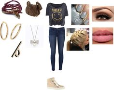 """""""1st Day"""" by rosiexox ❤ liked on Polyvore"""