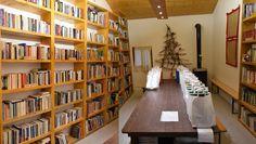 Μια εναλλακτική βιβλιοθήκη στον Καπνικό Σταθμό Κατερίνης Bookcase, Shelves, Home Decor, Shelving, Decoration Home, Room Decor, Book Shelves, Shelving Units, Home Interior Design