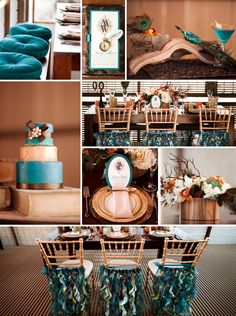 David Tutera Reception Halls Decor   What's our involvement? Check out our Curly Willow in Peacock ...