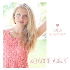 Welcome August, Coral, Spring Summer, Romantic, Pure Products, Lace, Inspiration, Collection, Women