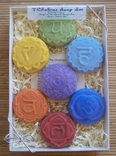 Clean your Chakras with Chakra soaps!