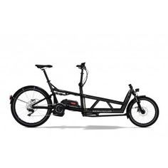 Riese and Muller Load Nuvinci 400Wh electric bike