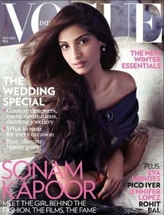 vogue india sonam kapoor