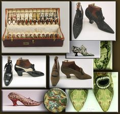 """""""A shoe without sex appeal, is as barren as a tree without leaves."""" Rita de Acosta Lydig, 1875-1929"""