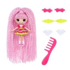 NEW Mini Lalaloopsy Loopy Hair Doll - Jewel Sparkles