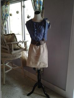 Kristen Barnett will be selling vintage clothing made from recycled, natural, fabric.  All the items are handcrafted by Kristen.  See more of her beautiful work at  http://www.facebook.com/ellamarieclothing