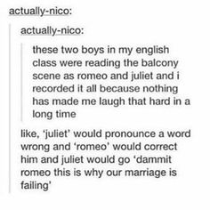 But romeo + juliet weren't married at the time of the balcony scene?