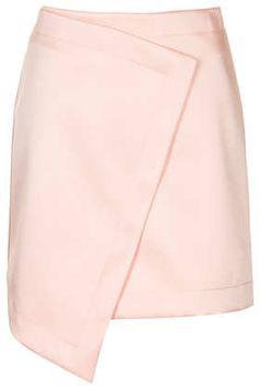 Wrap Lux skirt - Topshop price: £42.00