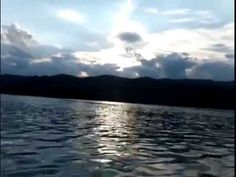 kayaking at Lake Moomaw, Convington, Virginia.