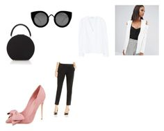 """""""Classy Spring"""" by czirokpanna on Polyvore featuring ASOS, BUwood, MANGO, Vince Camuto and Quay"""