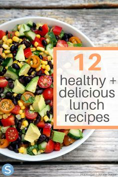 Prepare your lunches for the week with these healthy and delicious lunch recipes.  These are the perfect way to eat right while eating tasty meals! http://www.simplemost.com/healthy-and-delicious-lunch-recipes-new-years-resolutions/?utm_campaign=social-account&utm_source=pinterest.com&utm_medium=organic&utm_content=pin-description