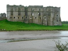Carew Castle, Carew, West Wales - built in 1100 - has its own Water Mill and Celtic Cross close by