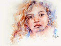 Stephie Butler Studio: Watercolour Portrait