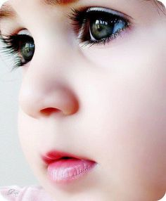 my joshua has big eyelashes like this I imagine my little girl will look like this
