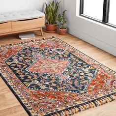 Jovany Hand-Hooked Wool Navy/Mutil Area Rug Rug Size: Rectangle x Area Rugs For Sale, Rug Sale, Home Studio, Home Renovation, Modern Decor, Modern Furniture, All Modern Rugs, Welding Table, Red Blue Green
