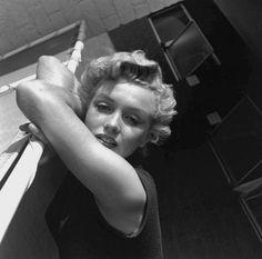Marilyn Monroe by Larry Barbier-1951
